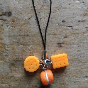 Attache Portable Gourmandises Orange