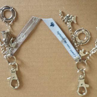 Porte clés thème Marin