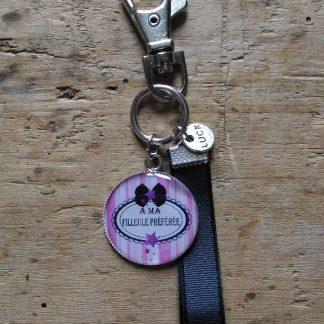 Porte clés Filleule preferée