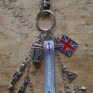 Porte-clés theme anglais