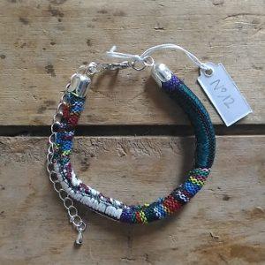 Bracelet cordon ethnique n°12