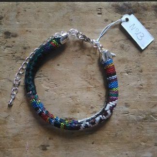 Bracelet cordon ethnique n°13