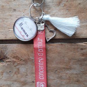 Porte-clés Maman Lsf 20