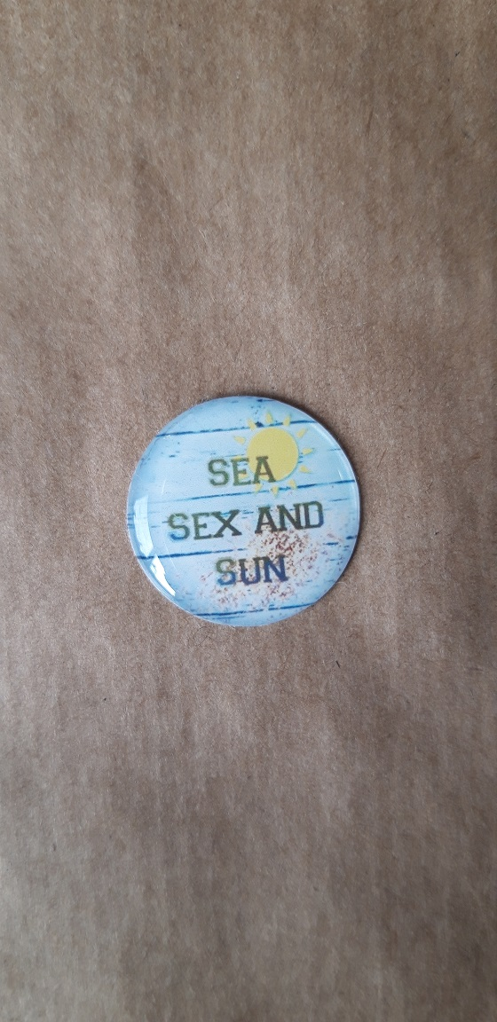 Sea sex and sun fond vert pale