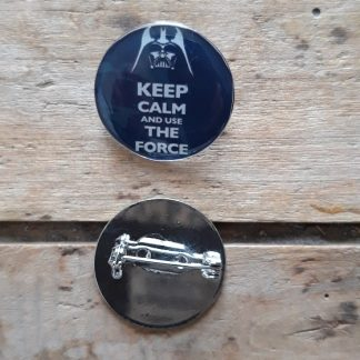 Broche-Pin's Keep Calm and use the Force