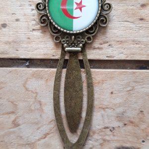 Marque-Page bronze drapeau Algérie