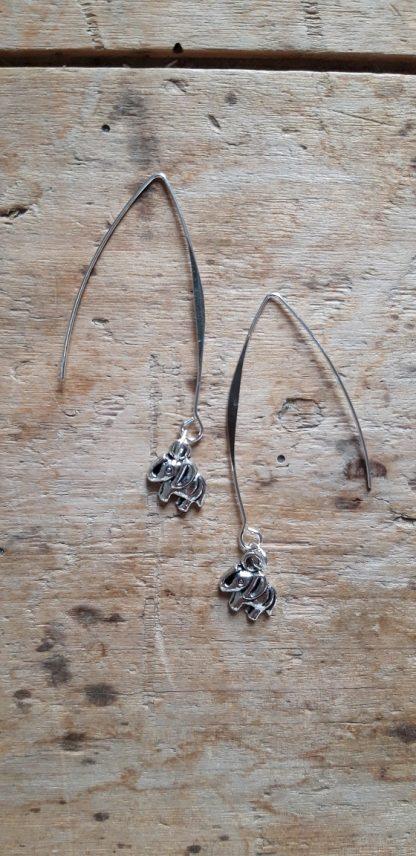 Boucles d'oreilles Elephant