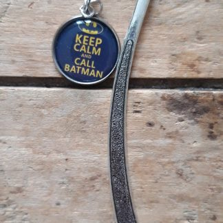 Marque-Page Keep calm and call Batman