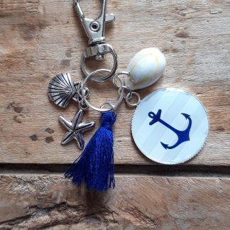 Porte-clés marin Ancre