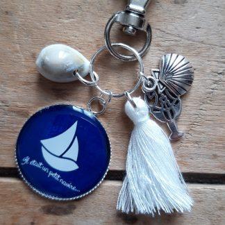 Porte-clés marin Bateau