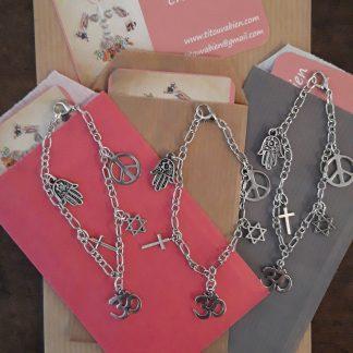 Bracelets multi-religion